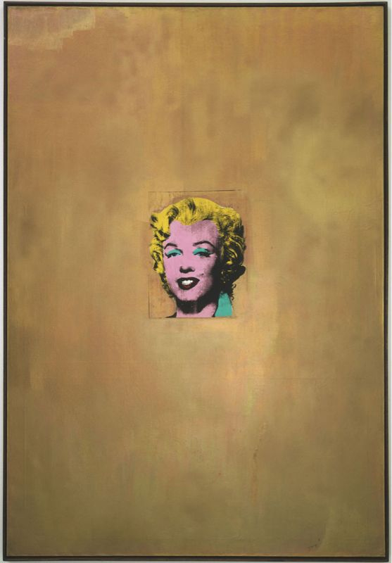 Andy Warhol - Gold Marilyn Monroe (1962)