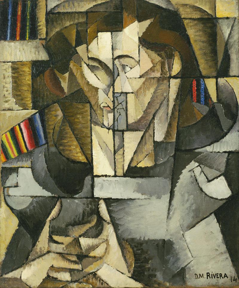 Diego Rivera - Jacques Lipchitz (1914)