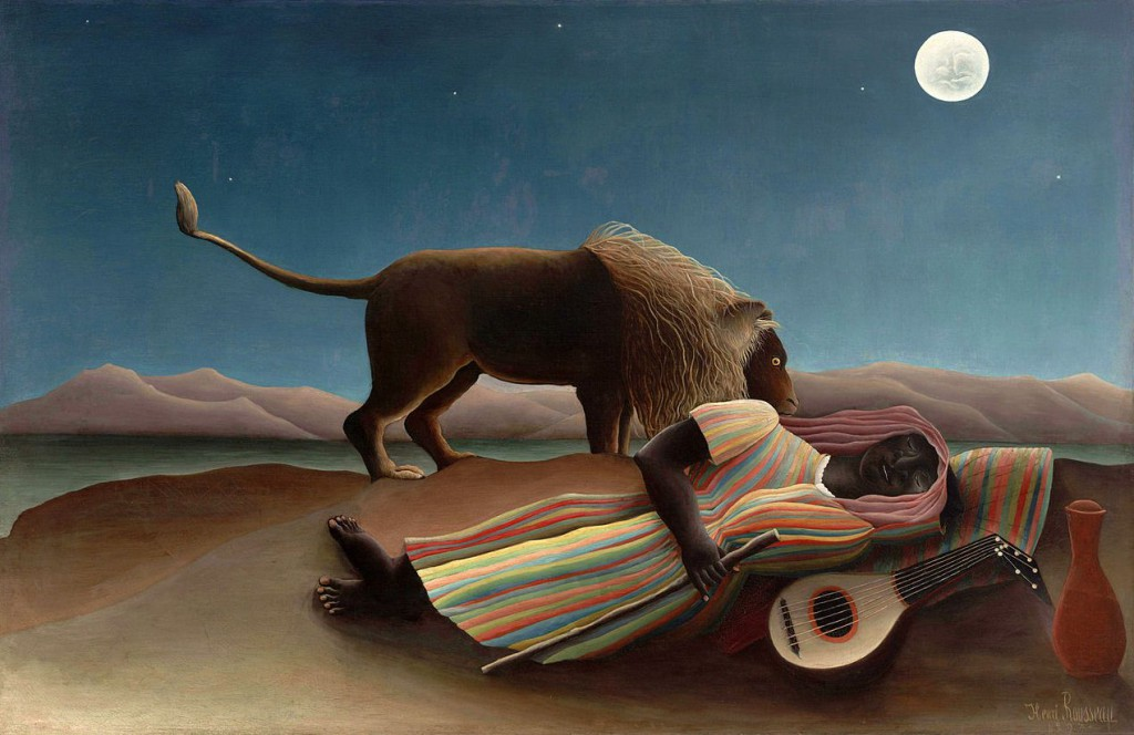 Henri Rousseau - The Sleeping Gypsy (1897)