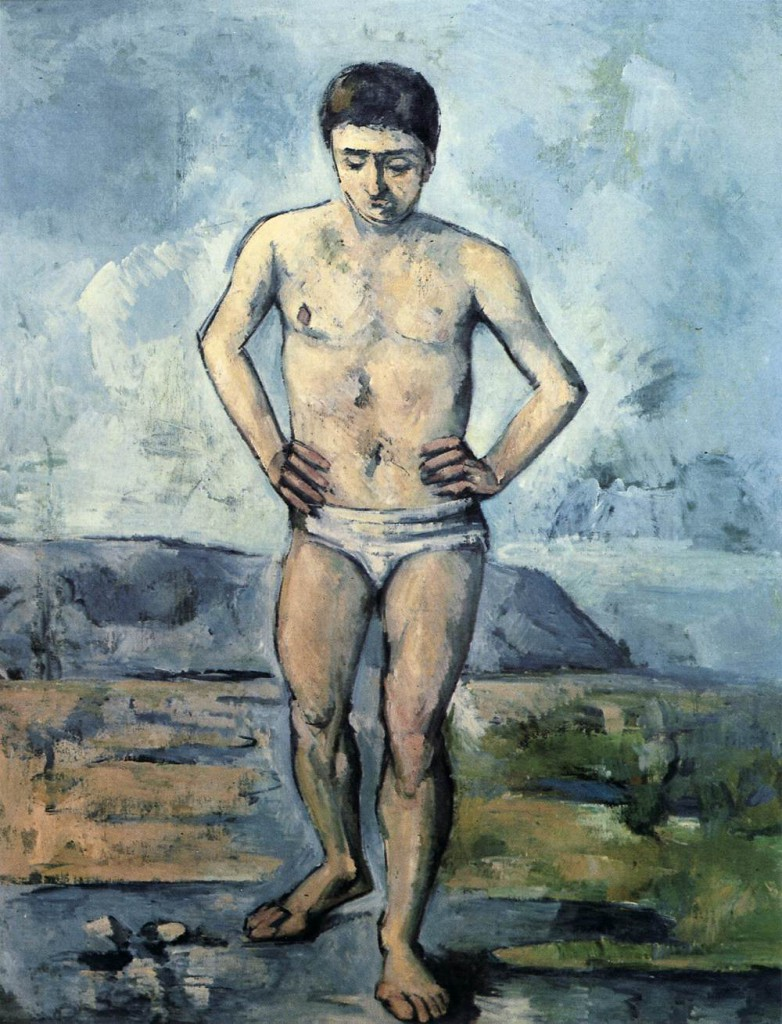 Paul Cezanne - The Bather (18885)