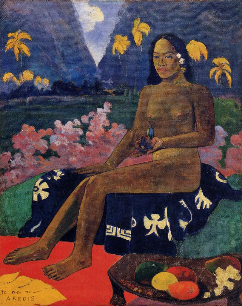 Paul Gauguin - The Seed of the Areoi (1892)