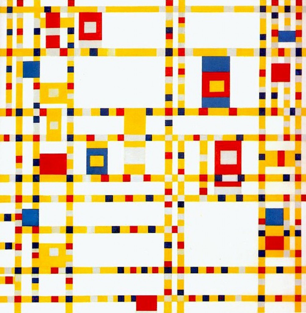 Piet Mondrian - Broadway Boogie Woogie