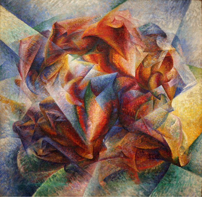 Umberto Boccioni - Dynamism of a Soccer Player (1913)