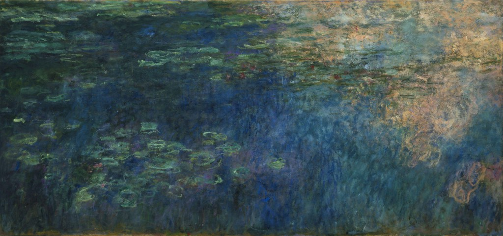 Claude Oscar Monet - Reflections of Clouds on the Water-Lily Pond