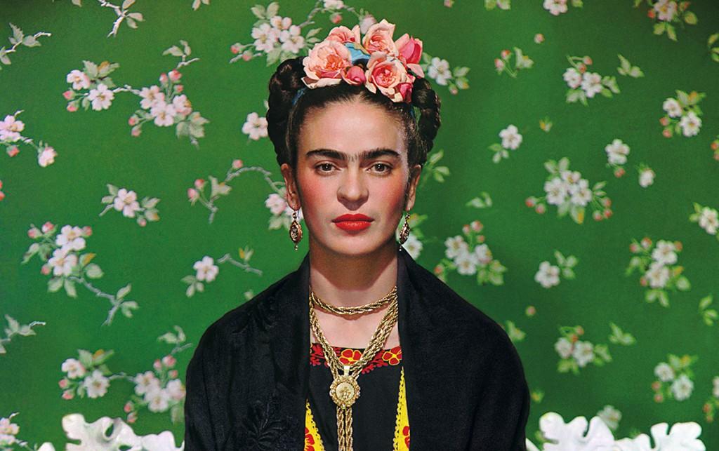 Frida on Bench – New York City – 1939, Nickolas Muray