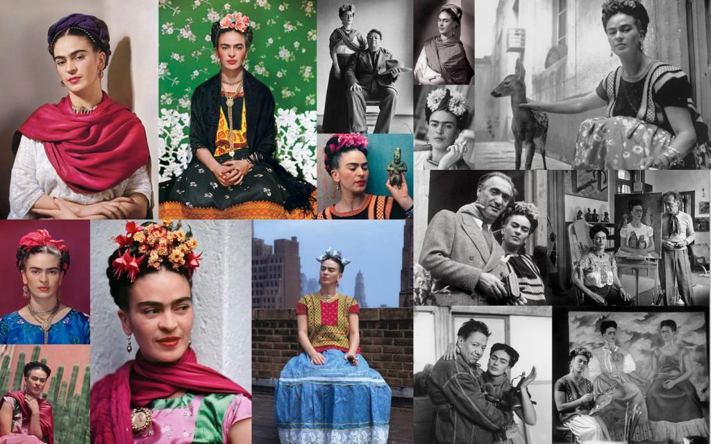 Nickolas Muray'in çektiği Fridah Kahlo fotoğrafları