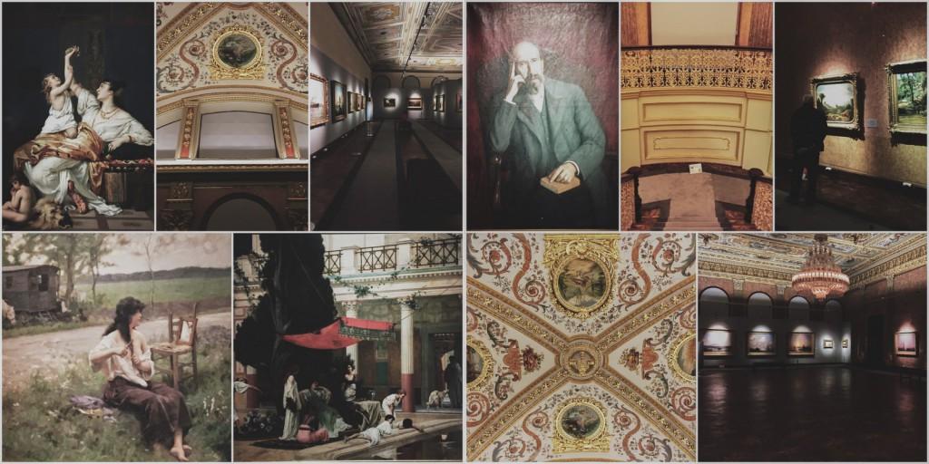 Milli Saraylar resim müzesi baya iyi