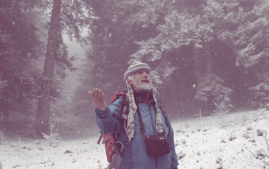 Ayder'in her haline aşık Reis, O kar yağışını öyle mest seyrettikçe bizim içimiz eridi