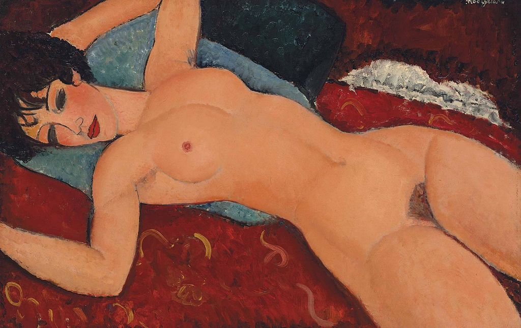 Nu couché - Red Nude (1917)