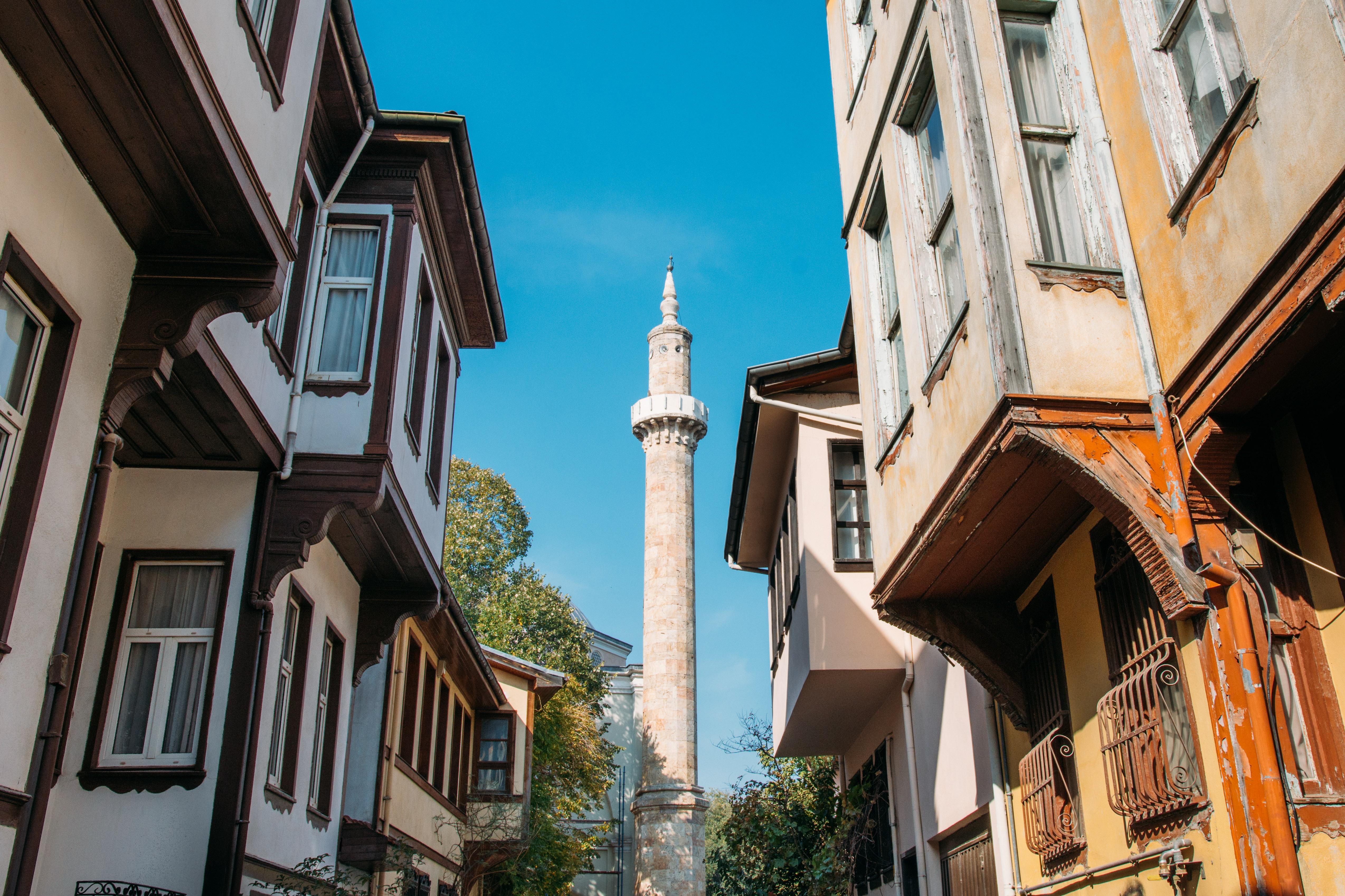Eski Bursa sokakları