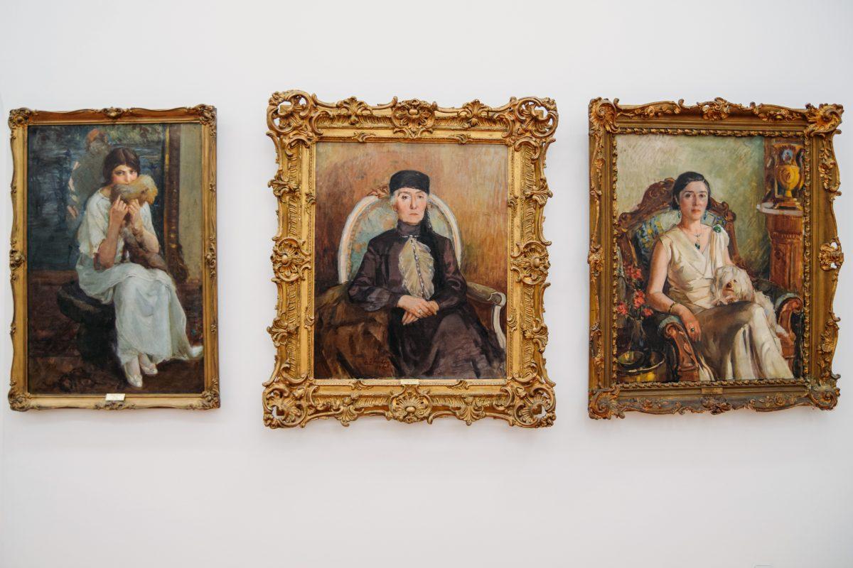 Ankara Devlet Resim ve Heykel Müzesi - İbrahim Çallı Resimleri