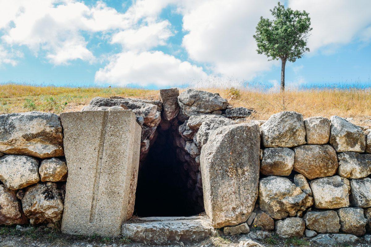 Hattuşa - Yerkapı tünel girişi