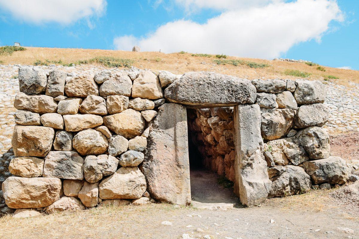 Hattuşa - Yerkapı tünel çıkışı