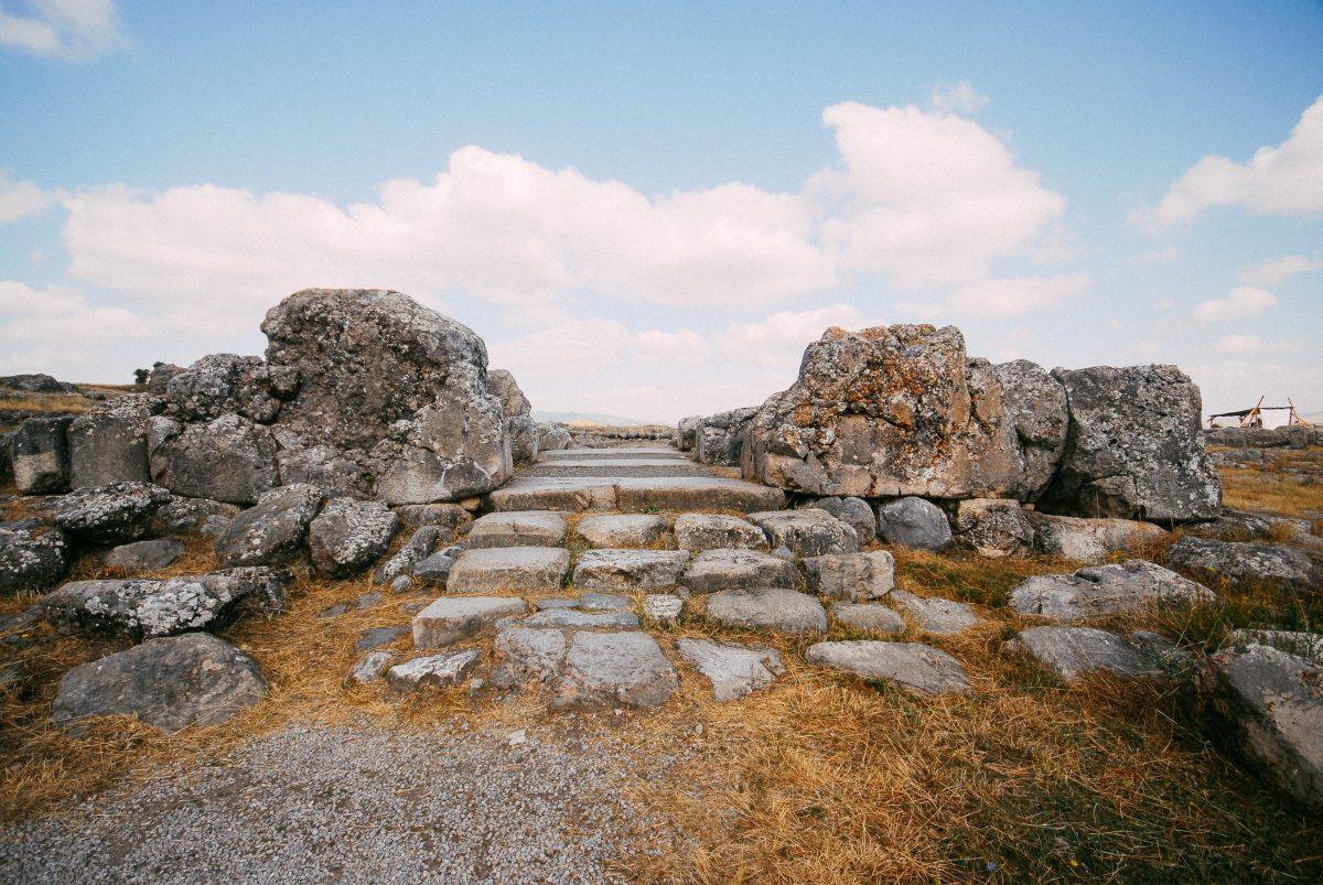 Hattuşa - Büyük Tapınak girişi