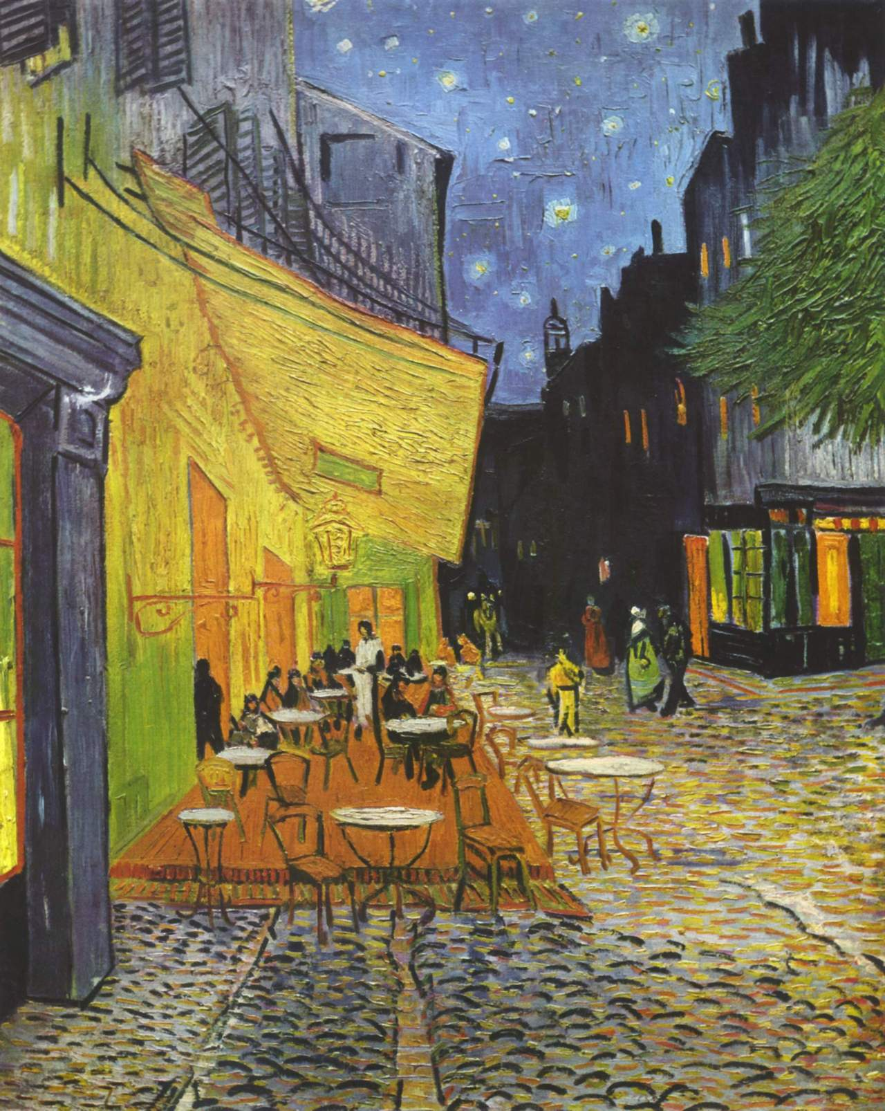 Cafe Terrace at Night, Kröller-Müller Museum, Otterlo, Holllanda