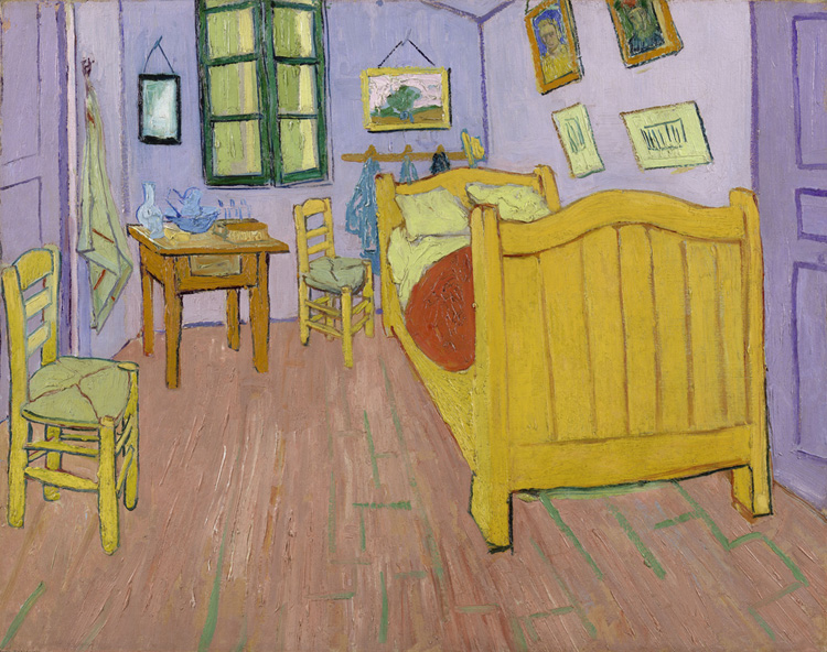 The Bedroom, Vincent Van Gogh, Van Gogh Museum, Amsterdam, Hollanda
