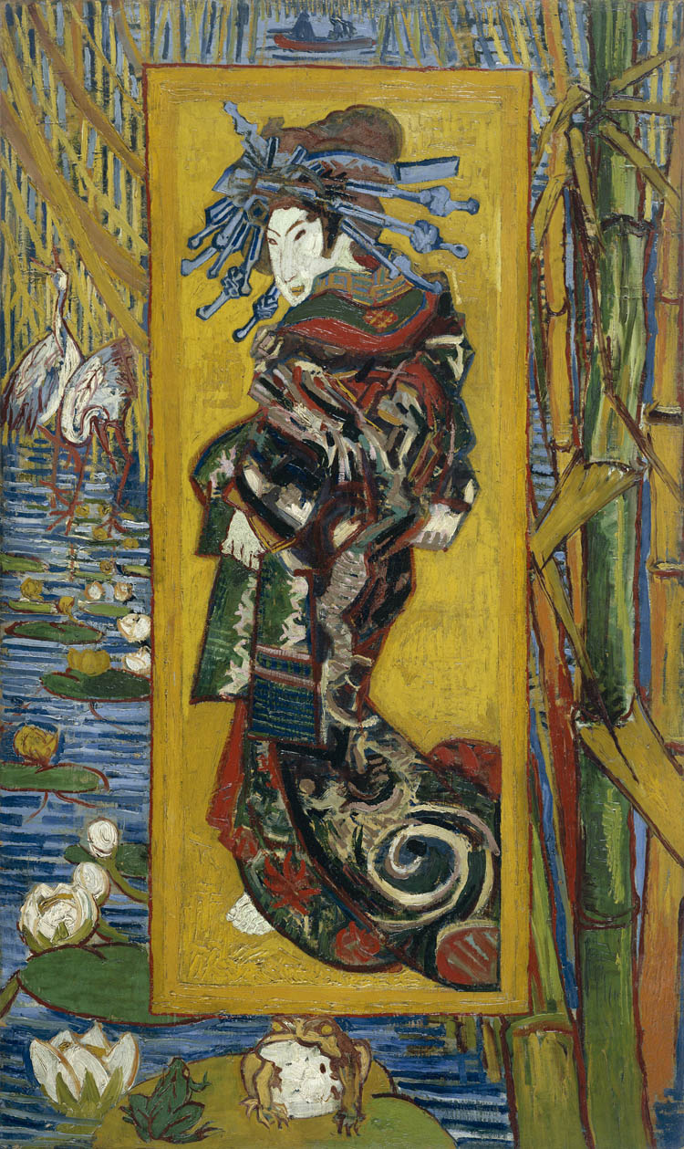 The Courtesan, Vincent Van Gogh, Van Gogh Museum, Amsterdam, Hollanda