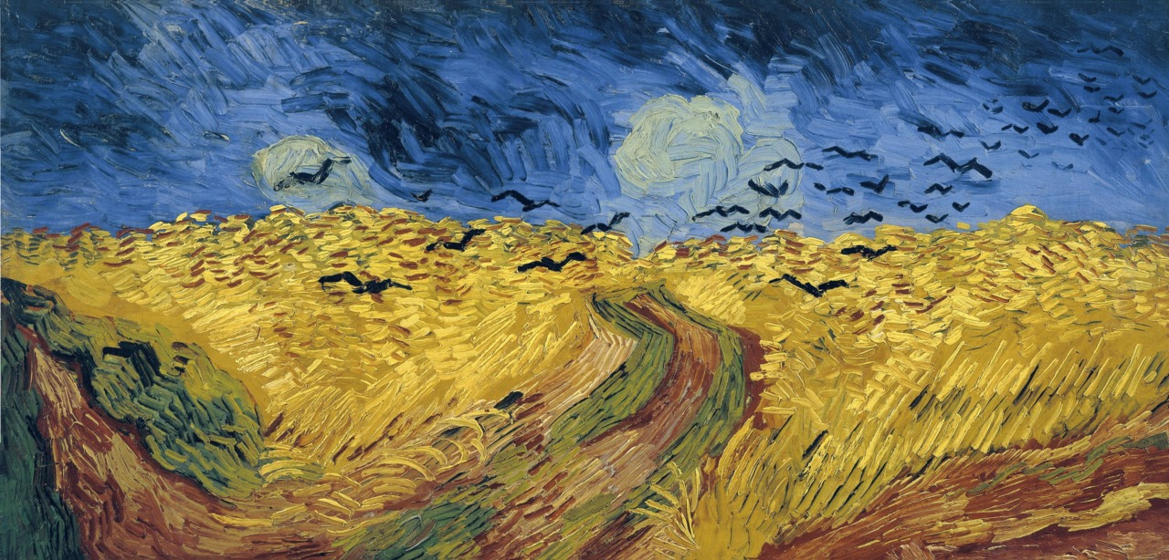 Wheatfield with Crows, Vincent Van Gogh, Van Gogh Museum, Amsterdam, Hollanda