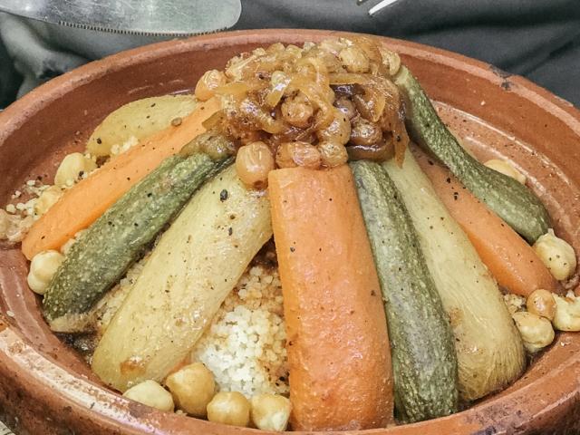 Le Jardin'de sebzeli couscous