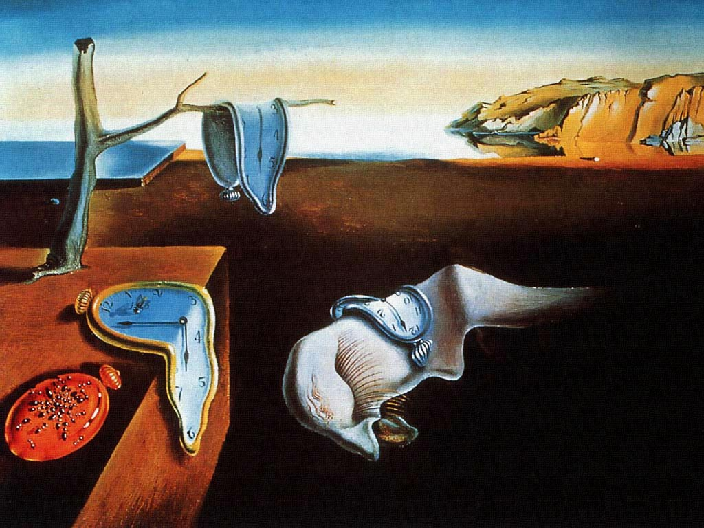 The Presistence of Memory - Bellegin Azmi - Salvador Dali