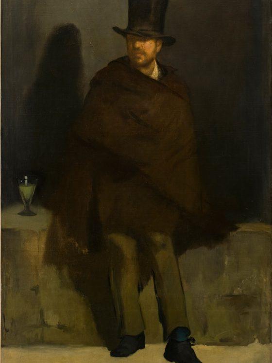 Edouard Manet'in hayatı ve resimleri ansinthe drinker