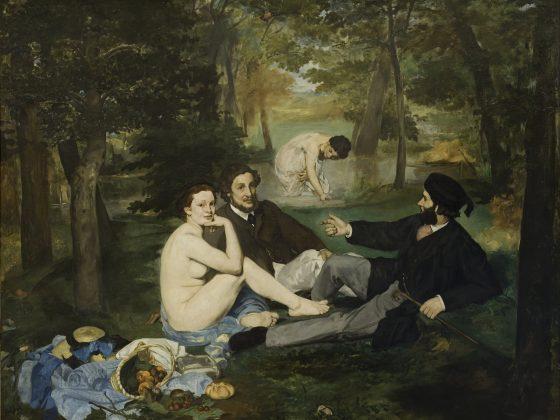 The Luncheon on the Grass, 1863, Orsay Müzesi, Paris, Fransa