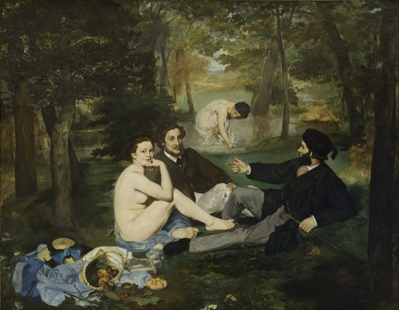 The Luncheon on the Grass, 1863, Orsay Müzesi, Paris, Fransa