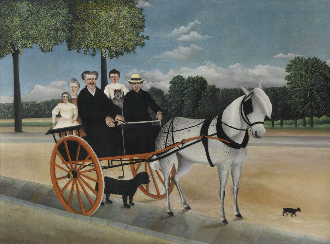 Henri Rousseau, La Carriole du père Junier, 1908
