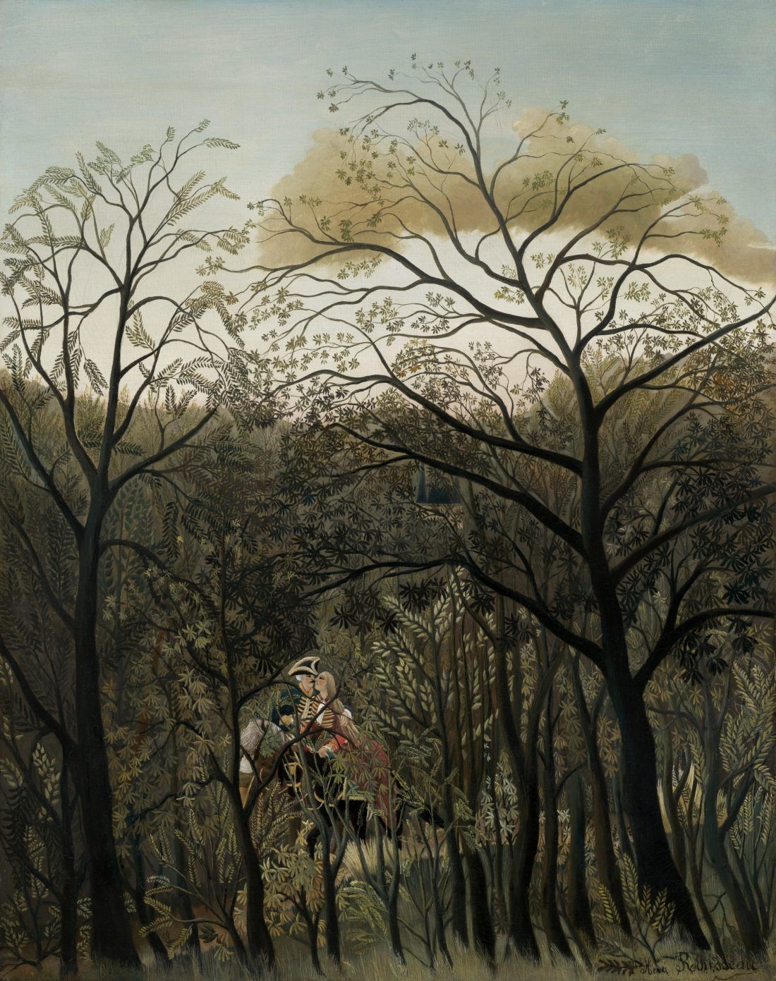 Henri Rousseau, Rendevouz in the Forest, 1889