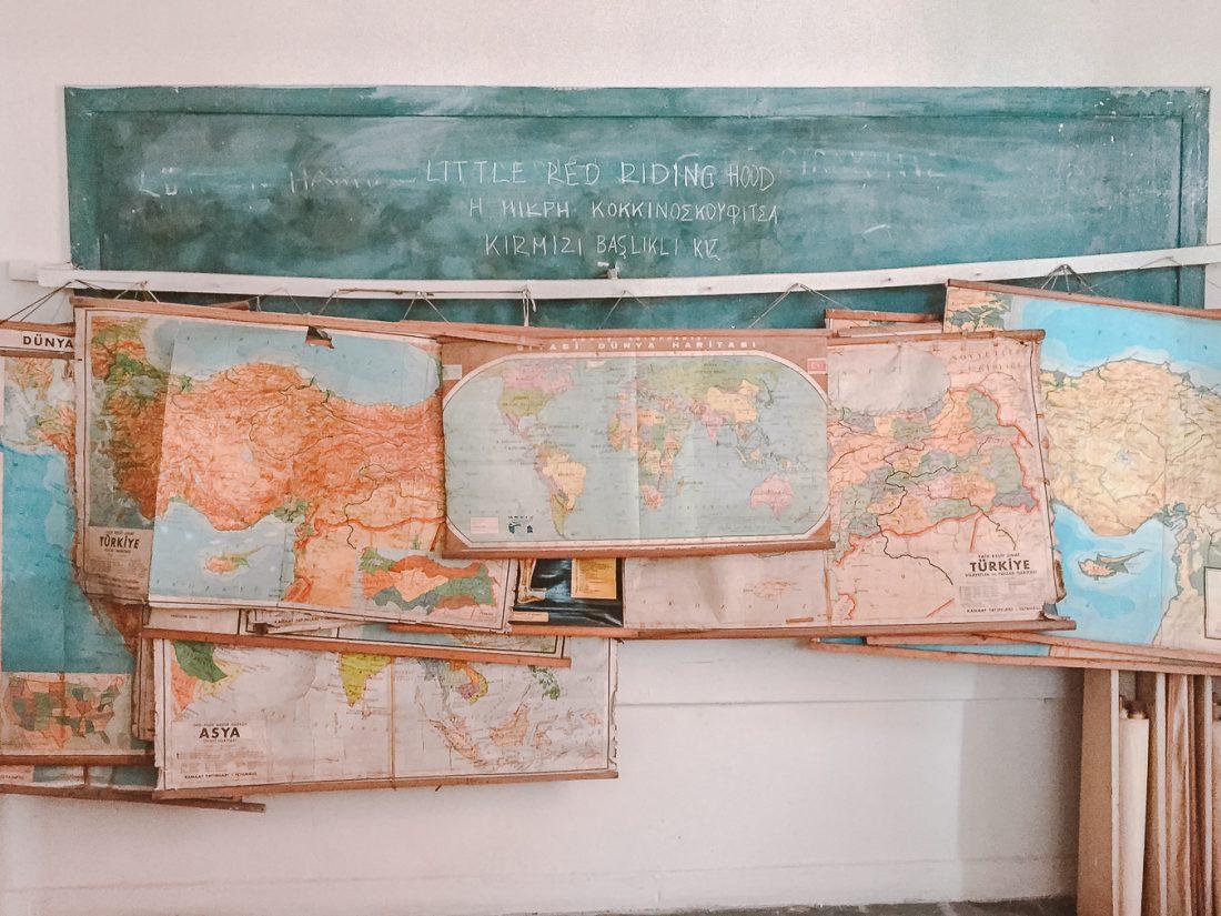 Yuvakimyon Rum Lisesi Harita Odası